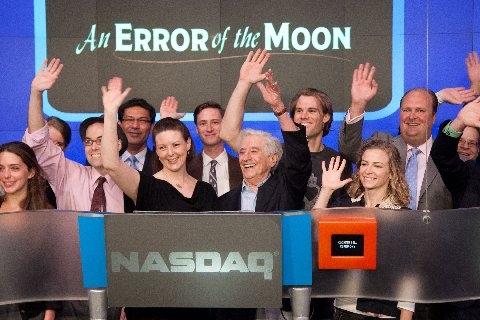 The Full Company of AN ERROR OF THE MOON with NASDAQ VP David Wicks Photo